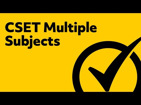 Free CSET Multiple Subjects (101, 214, 103) Study Guide