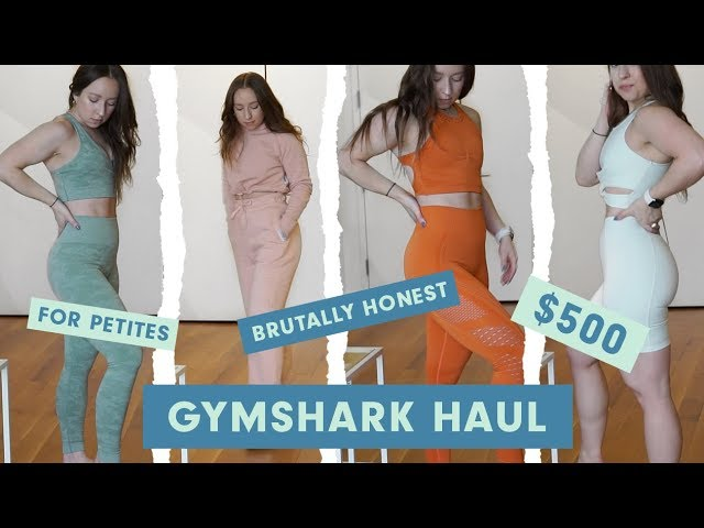59cf246ecca0b $500 Massive Gymshark Haul | PETITE EDITION Download video - get video  youtube