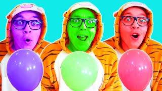 Baloane Magice ! Invatam Culorile cu Melly Karamely