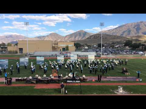 Sky View High School Marching Band, Nebo Competition - Sept 26, 2015