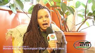 Ms  Zaza Ali And Dr  Anika Psychology 101  Movies And It's Effect To Move Through Mans  Conscio