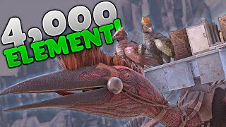 Gambar cover 4,000 ELE SKY BASE LOOT!!! - Ark Duo Small Tribes Official - Ep4