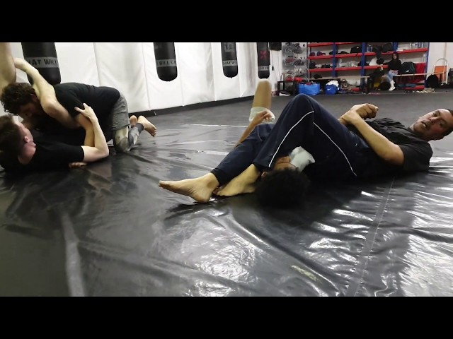MMA Beginners Course - Submissions From The Guard