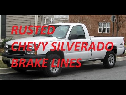 How To Guide Replace 2006 Silverado Brake Lines With Nickle Copper Nicopp Lines Youtube