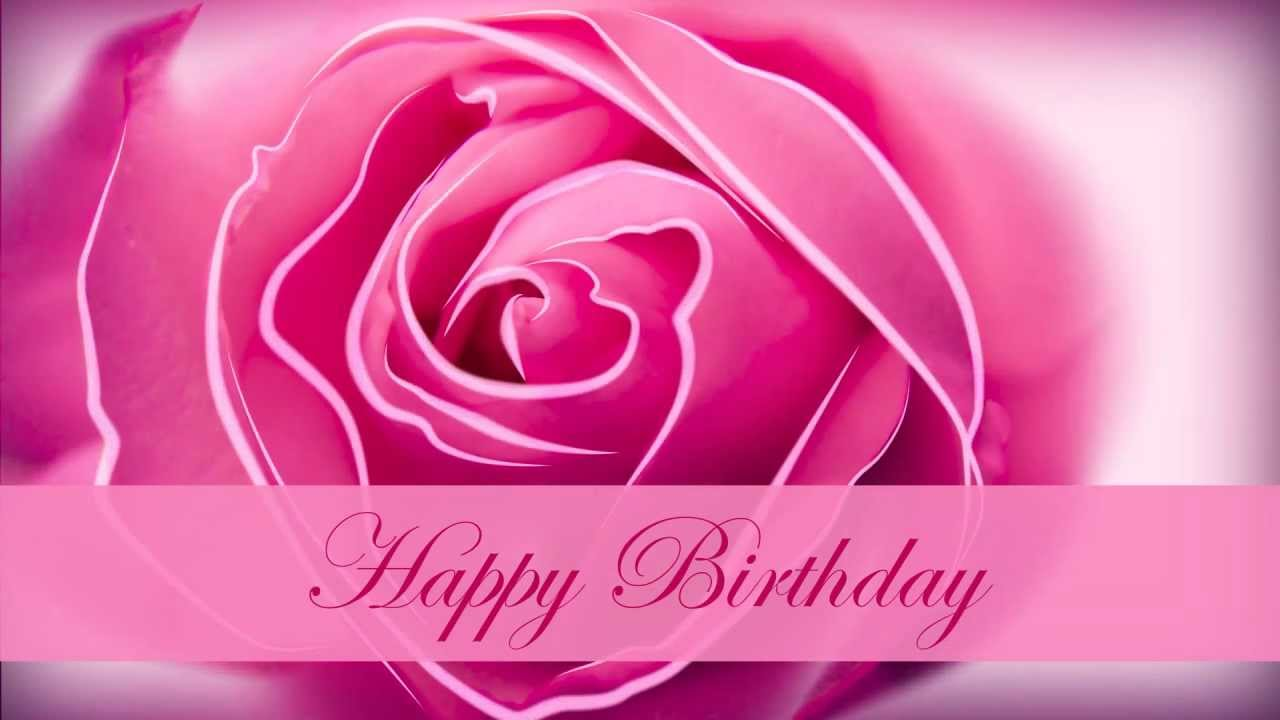 Happy birthday motion graphics flower animation youtube izmirmasajfo