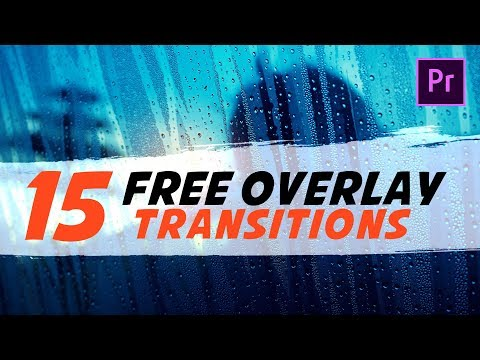 15 FREE Transitions Pack For Premiere Pro | Matte Overlay