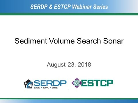 Sediment Volume Search Sonar Development