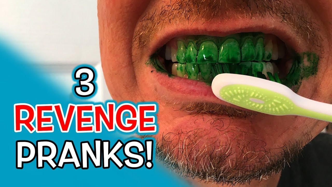 3 Revenge Bathroom Pranks Youtube