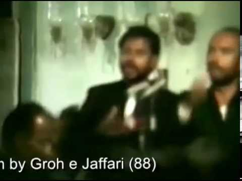 Groh e Jaffery 88 Matam at Hussaini Kothi 1990 8th Muharram 1411 Hijri