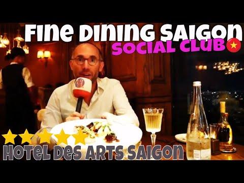 Social Club Hotel des Arts Saigon Luxury Rooftop Bar Restaurant Trip Report Vietnam