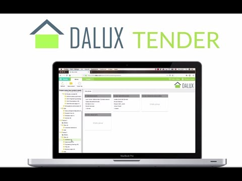 Tendering process made digital   Dalux Tender