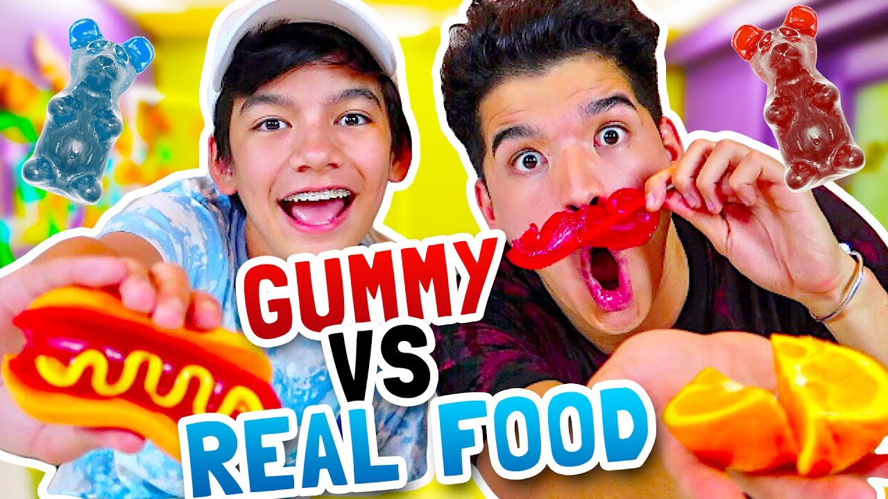 gummy-vs-real-food-ft-my-little-brother