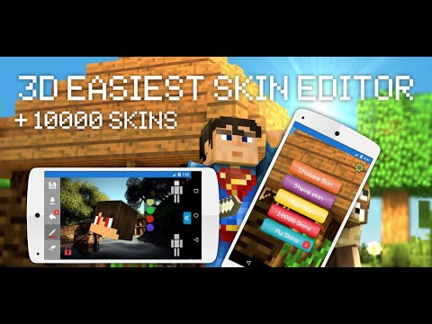 Skin Editor For Minecraft PE (3D)
