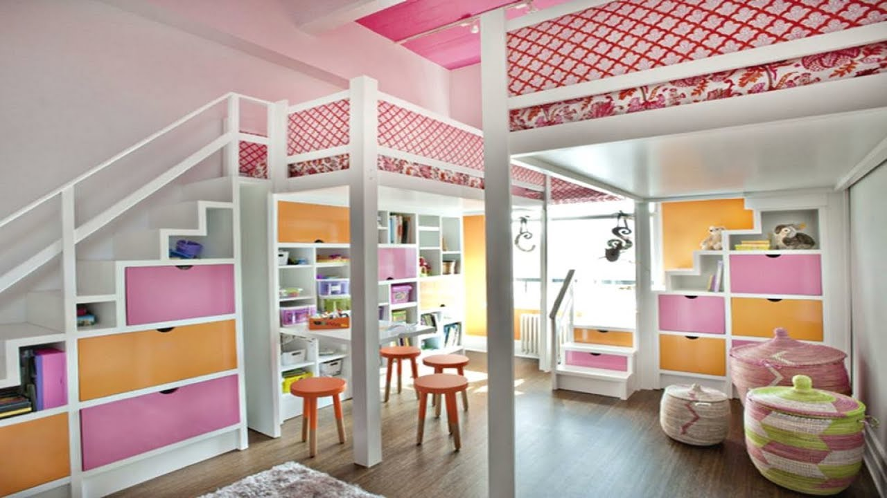 60 Kids Bedroom Ideas For Girls And Boys Bunk Beds Youtube