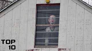 Top 10 Scariest Houses That Would Freak You Out