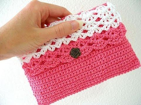 878a13992b45 Вязаная Косметичка Крючком 2019 / Crochet Beautician / Gestrickte Häkeln  Kosmetikerin