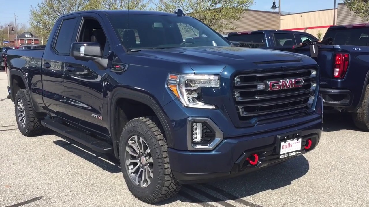 2019 Gmc Sierra 1500 4wd Double Cab At4 Multi Pro Tailgate