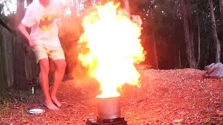 EXPLOSIVE OIL COOKING - Freshwater Eel - Catch n Cook  | TDB