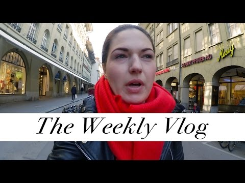 Dress Shopping for Miss Switzerland | Weekly Vlog