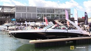 2016 Cruisers Yachts 338 Black Diamond Edition Yacht - Walkaround - 2016 Montreal In Water Boat Show