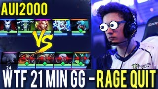 Miracle Are You Ready? Unkillable 1 vs 9 Machine Gun QoP WTF 21 Min GG ALL Enemy Rage Quit Dota 2