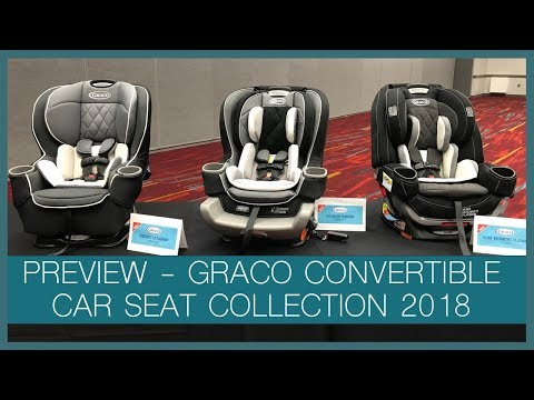 2018 Graco Platinum Convertible Car Seat Collection   ABC Kids Expo 2017