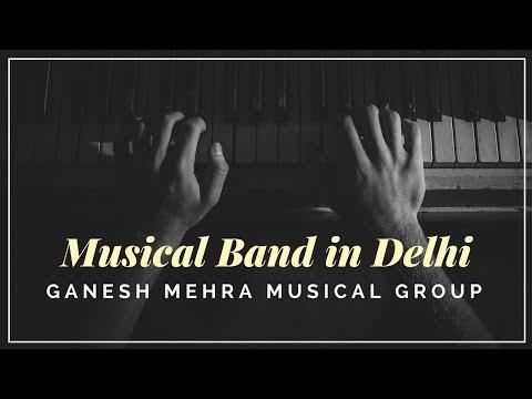 Musical Band in Delhi | Corporate & Wedding Events |  Sangeet & Mehendi | Singer Ganesh Mehra