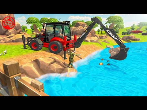 Heavy Excavator Construction Simulator Virtual Village | Car Games 2019 | Android GamePlay FHD