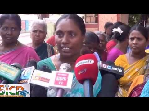 The siege of the regional office with empty pots in Madurai Corporation