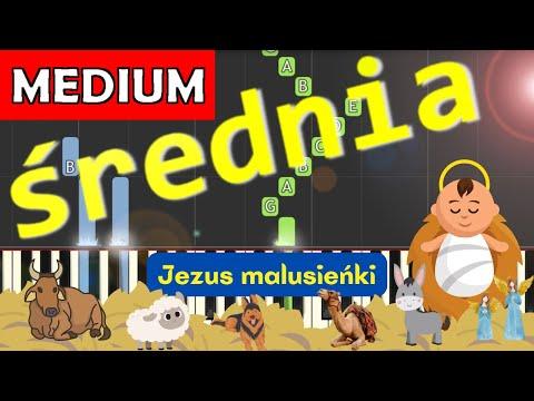 🎹 Jezus malusieńki - Piano Tutorial (średnia wersja) 🎹