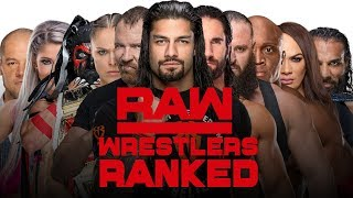 Ranking The ENTIRE WWE RAW Roster From Worst to Best (ALL 59 Wrestlers)