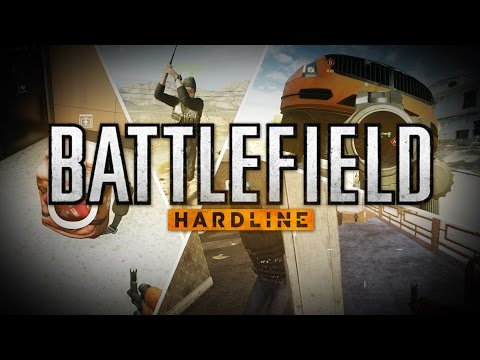 Battlefield Hardline - Death Puns, Clown Car, Happy Medic Bag (Leftover BETA Moments) |