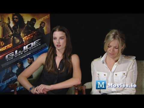 GI JOE - hot Interview with Sienna Miller & Rachel Nichols