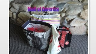 Mall of America Haul! Thumbnail