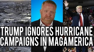 Trump Ignores Devastating Hurricane to Hold Campaign Rallies!