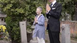 桐島ローランド 第一声の前に、先祖に立候補を報告 川原洋子 動画 28