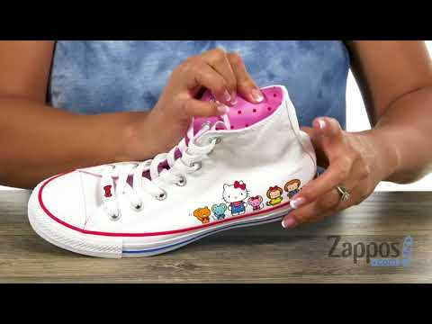 Converse Kids Hello Kitty® Chuck Taylor® All Star® Hi (InfantToddler) SKU: 9109451