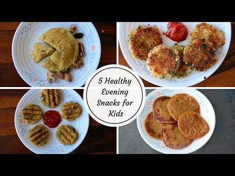 Healthy evening snacks for kids | Weight gaining snack recipes