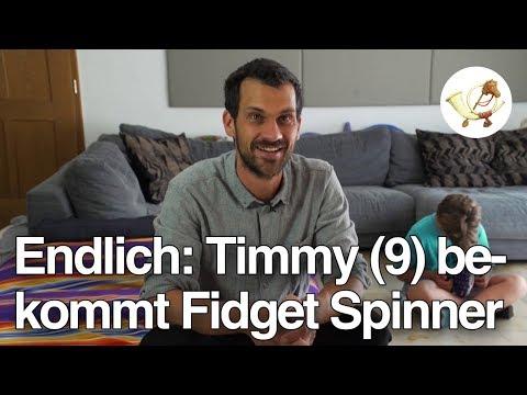 Timmy (9) bekommt endlich einen Fidget Spinner [Postillon24]