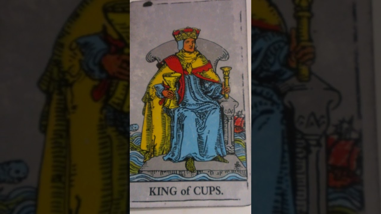 The King of Cups as Feelings in a Love Reading