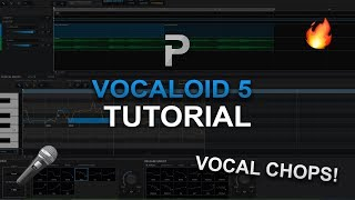 HOW TO MAKE: Vocal Chops - VOCALOID5 Tutorial