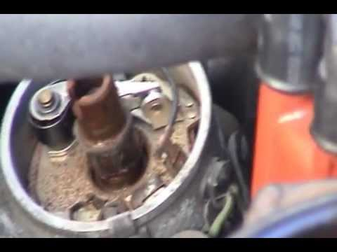 Mercedes 280se Ignition Points Maintenance