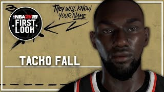 NBA 2K19 - How To Create Tacko Fall