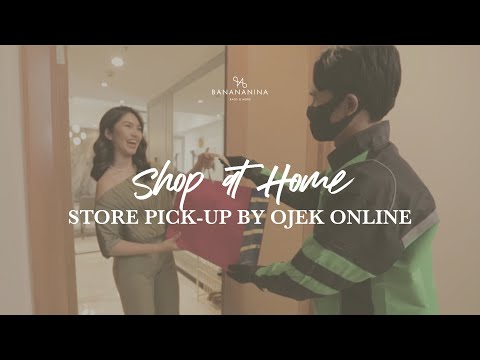 Shop at Store, Store Pick-Up by Ojek Online