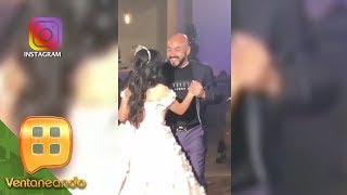 ¡FIESTÓN LOCO! Lupillo Rivera le organizó una fiesta sorpresa a su hija por sus XV años.