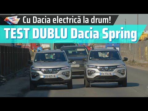 TEST Dacia Spring Electric: cât de mare/mică e, cum se conduce, cum accelerează + AUTONOMIA REALĂ!