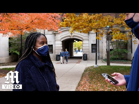 Students thoughts on an in-person winter semester
