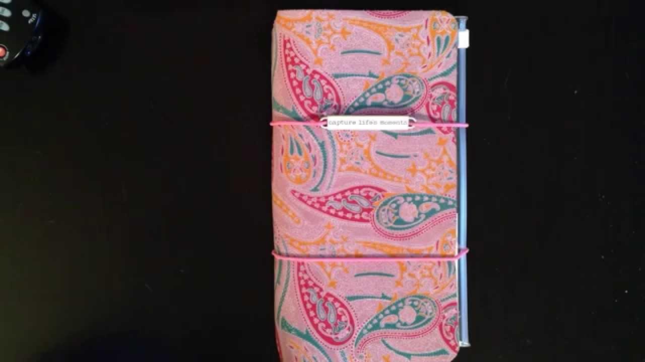 Homemade Midori Traveler's Notebook