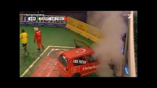 Gruppe A: Irland -Türkei - TV total Autoball