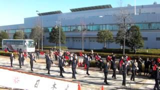 大島商船手旗踊り in 横浜日本丸